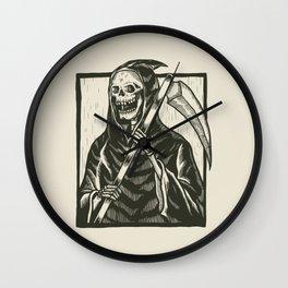 Angel of Death Grim Reaper Wall Clock