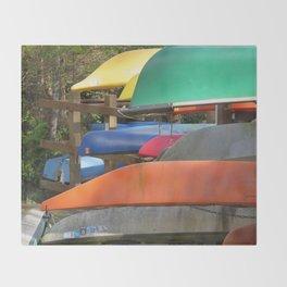 Pointe Kayaks 14 Throw Blanket