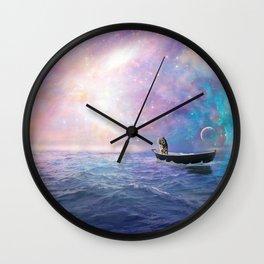 Ocean Tiger Wall Clock