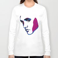 elvis Long Sleeve T-shirts featuring ELVIS by HAUS OF DEVON