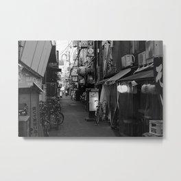 Osaka Street Metal Print