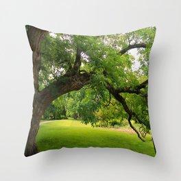 Gnarled Throw Pillow