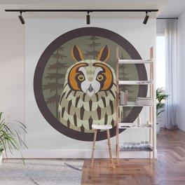 Long-eared Owl Wall Mural