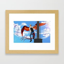 Phoenix Flight Framed Art Print