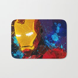 Iron man I Bath Mat