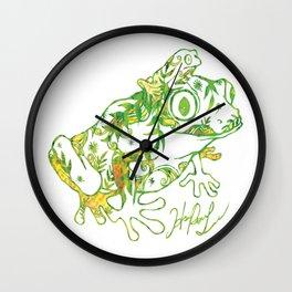 My sweet tiny froggy Wall Clock