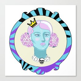 Marshmellow Queen Canvas Print