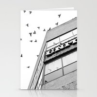 broadway Stationery Cards featuring Broadway Birds by XtinaYo