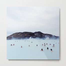 The Blue Lagoon Metal Print