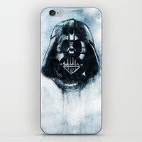 dark side iPhone & iPod Skins featuring Dark Side by ErDavid
