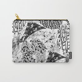 graphic mosaic Carry-All Pouch