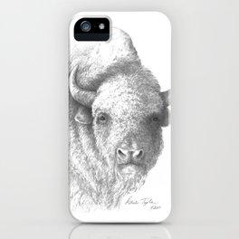 Gray Buffalo  iPhone Case