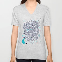 Chaos and order Unisex V-Neck