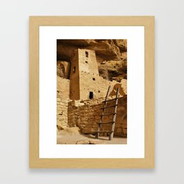 Cliff Palace Tower at Mesa Verde NHS Framed Art Print