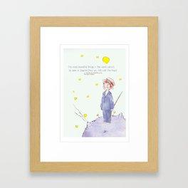 Little Prince Jinki Framed Art Print