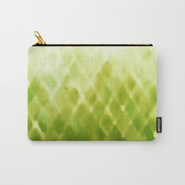 Diamond Fade in Green Carry-All Pouch