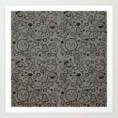 Sweet Pattern Art Print