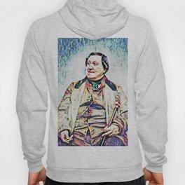 Gioachino Antonio Rossini (1792 – 1868) (digitized photography from 1865) Hoody