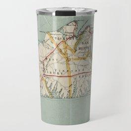 Vintage Map of Martha's Vineyard (1917) Travel Mug