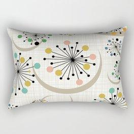 Mid Century Modern Starbursts 1a Rectangular Pillow