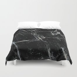 Black Marble Edition 1 Duvet Cover