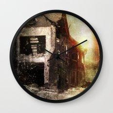False Sunrise Wall Clock