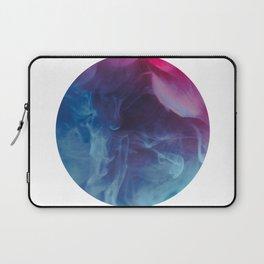 blue purple pink smoke - colorful Laptop Sleeve