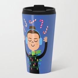 Holiday with Candy Travel Mug