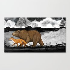 Nightwalkers Canvas Print