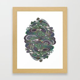 Il faut cultiver notre jardin Framed Art Print