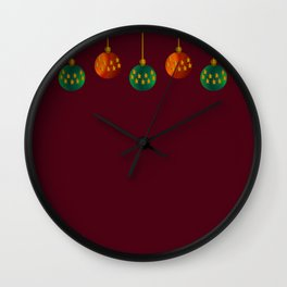 Christmas - The Best Time Of The Year Wall Clock