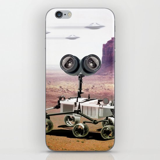 Behind you iPhone & iPod Skin