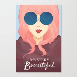 Mystery is Beautiful Canvas Print