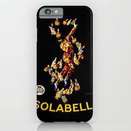 Leonetto Cappiello Isolabella Liqueur Advertising Poster iPhone Case