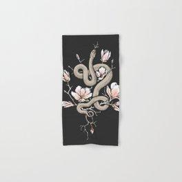 Magnolia and Serpent Hand & Bath Towel