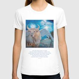 Saint Luke Christmas T-shirt