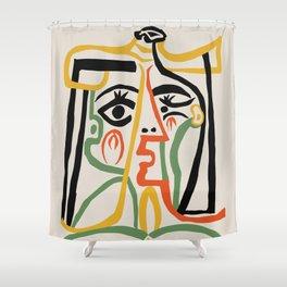 Picasso - Woman's head #1 Duschvorhang