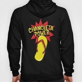 Chancleta Power Flip Flop Logo Hoody