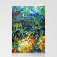 switzerland Stationery Cards featuring SWITZERLAND by Kelli Gedvil