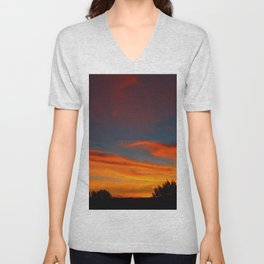 Sunrise Haven Unisex V-Neck
