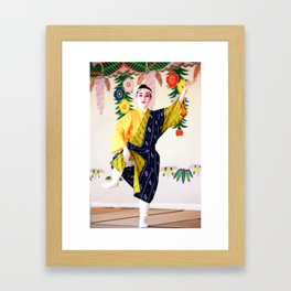 Shurijo Dancer 3 Framed Art Print