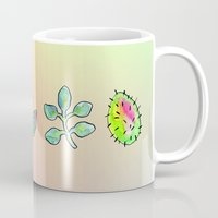 cacti Mugs featuring Cacti  by Brettisagirl