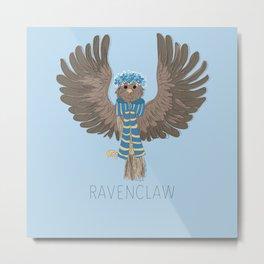 RAVENCLAW-FLOWER CROWN Metal Print