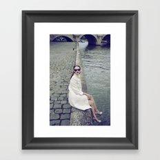 Paris Vintage 1 Framed Art Print