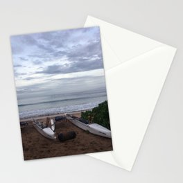 DOUBLE OUTRIGGERS Stationery Cards