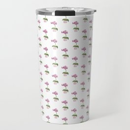 Pink Mini Orchid Travel Mug