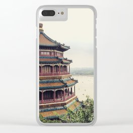 Summer Palace, Beijing China Clear iPhone Case