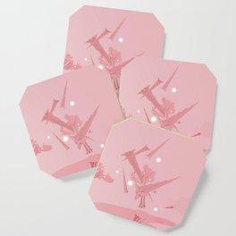 Voyage in Pink Coaster