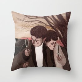 The detectives Throw Pillow