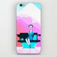 shopping iPhone & iPod Skins featuring Shopping by IOSQ